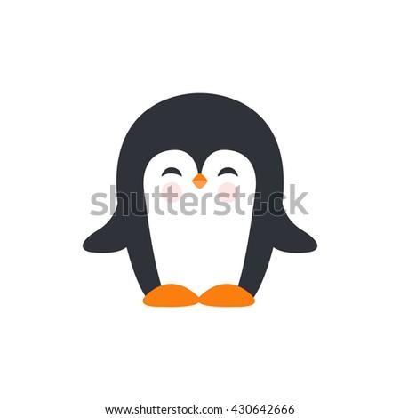 pinguin icon. vector illustration Stockfoto ©