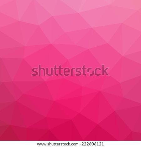 pink abstract polygonal
