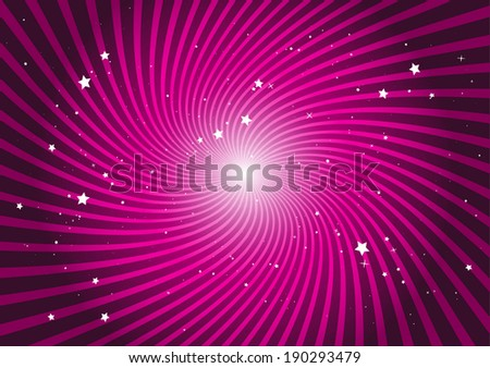 pink abstract space whirlpool