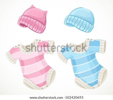 pink and blue sets for baby