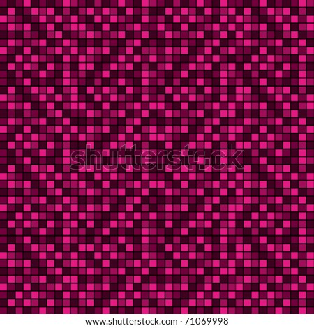 Pink and purple mosaic vector background.
