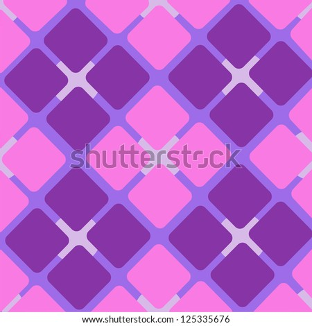 pink and purple Square Abstract Pattern