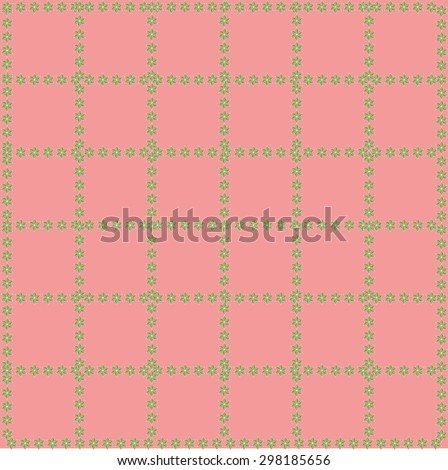 pink background pattern squares