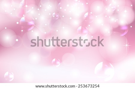 pink background with highlights