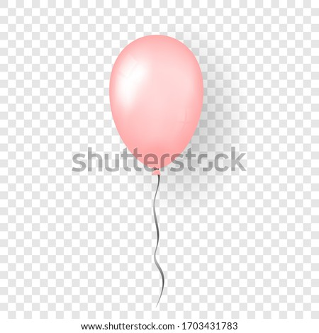 pink balloon 3d  thread