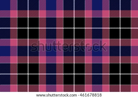 pink blue check seamless plaid