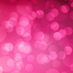 Pink blurred light background with bokeh effect