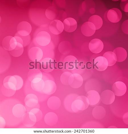 pink blurred light background