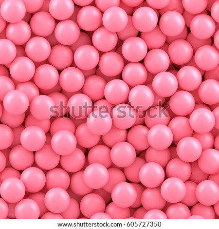 pink candy balls background