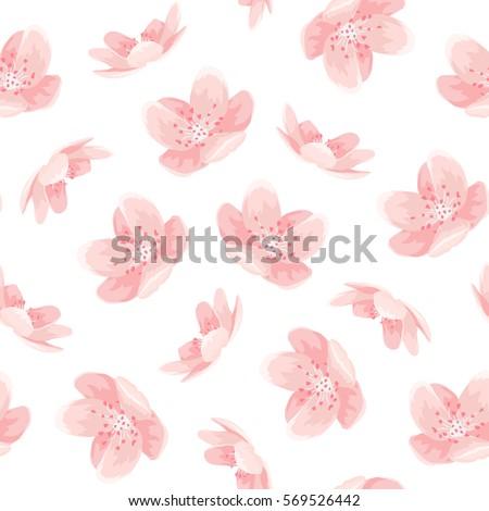 pink cherry sakura japanese