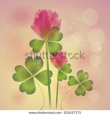 pink clover   floral fresh