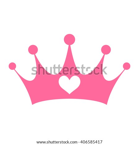 pink girly princess royalty