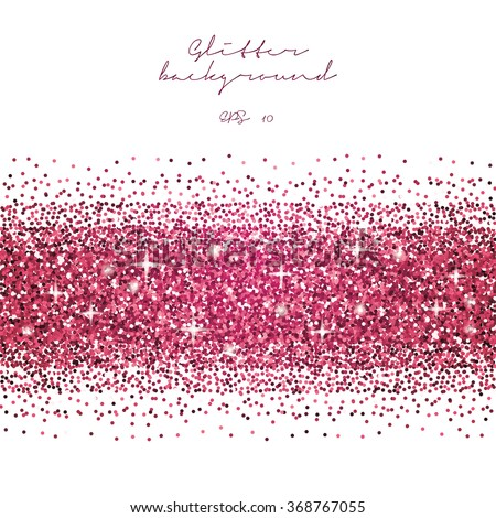 royaltyfree pink glitter border background tinsel