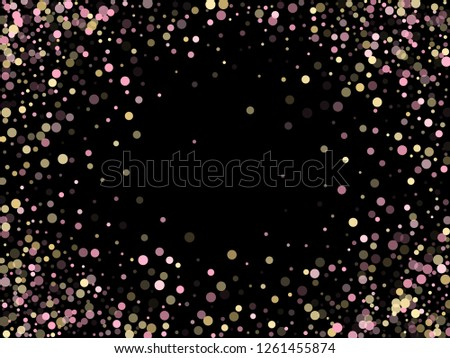 Gold Circle Light Effect On Transparent Background Download Free