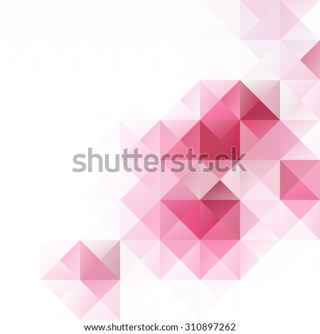 pink grid mosaic background