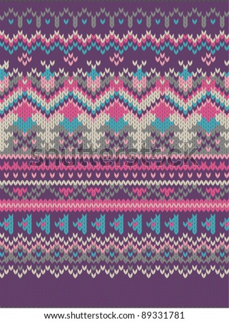 Lady Leopard Plus | Women's Plus | Knit it Now