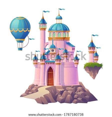pink magic castle  princess or