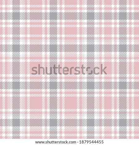 pink ombre plaid textured