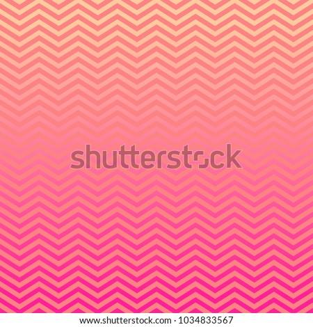 pink peach ombre chevron vector