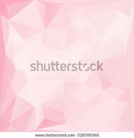 pink polygonal mosaic