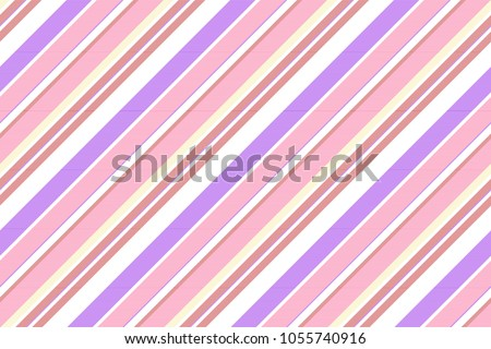 Stock Photo Pink purple striped seamless fabric texture. Vector illustration.