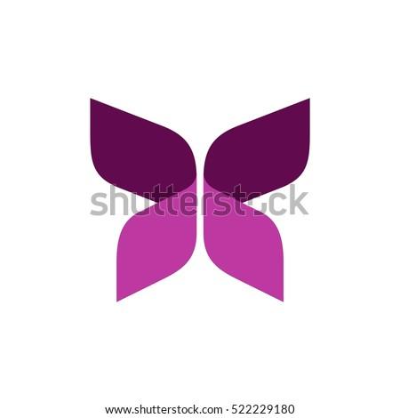 pink ribbon butterfly logo