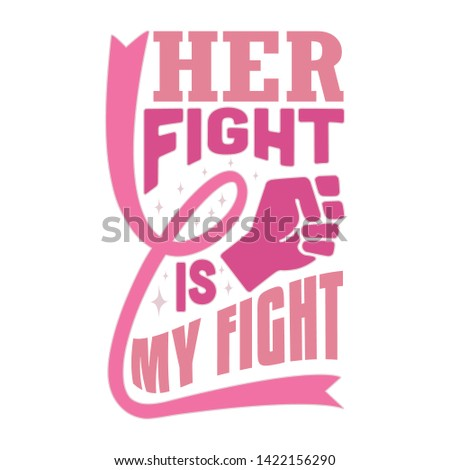 pink ribbon quote and saying