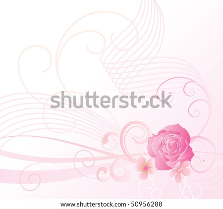 pink flowers background. cherry flowers background