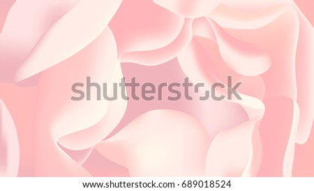 pink rose petal close up
