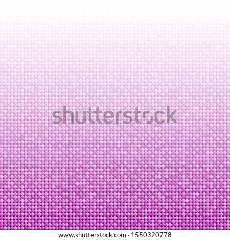 Pink sequins, glitters, sparkles, paillettes, mosaic background template. Abstract luxury halftone vector creative backdrop. Pink rounds with gradient trendy. Vibrant shiny dots glitter texture.