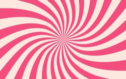 Pink sunshine colorful vector background. Abstract sunburst design wallpaper for template banner business social media advertising. cartoon backdrop. sweet candy.