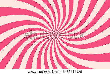Pink sunshine colorful vector background. Abstract sunburst design wallpaper for template banner business social media advertising. cartoon backdrop. sweet candy. Photo stock ©