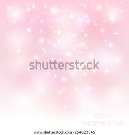 pink valentines background with