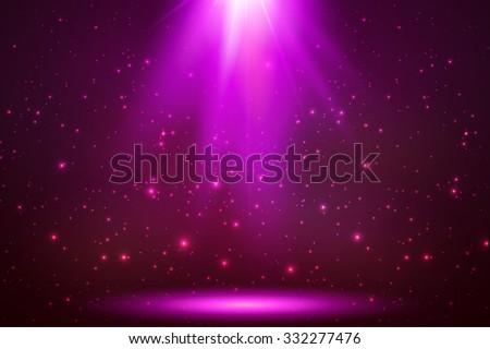 pink vector magic top light in
