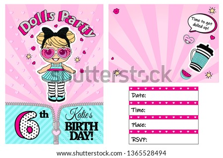 pink vector template of