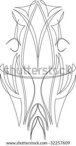 pinstripe line vector