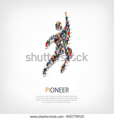 pioneer people symbol