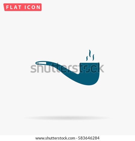 pipe icon vector flat simple