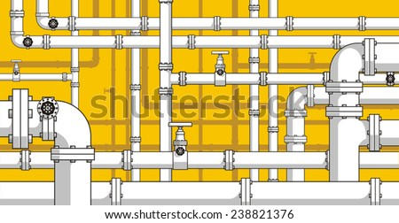 Pipes background