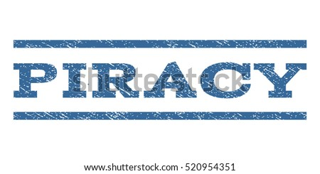 piracy watermark stamp text