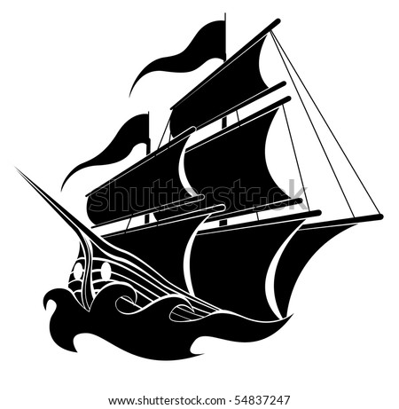 free pirate ship vector download free vector art stock graphics rh vecteezy com pirate ship vector clipart pirate ship vector clipart