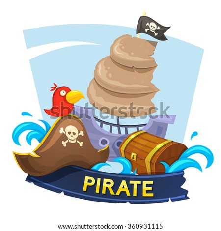 pirate concept design with the