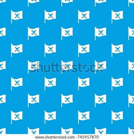 pirate flag pattern repeat