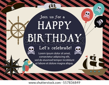 Vector Images Illustrations And Cliparts Pirate Happy