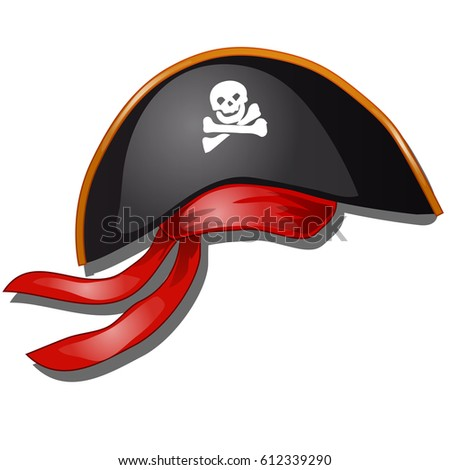 pirate hat with red headband