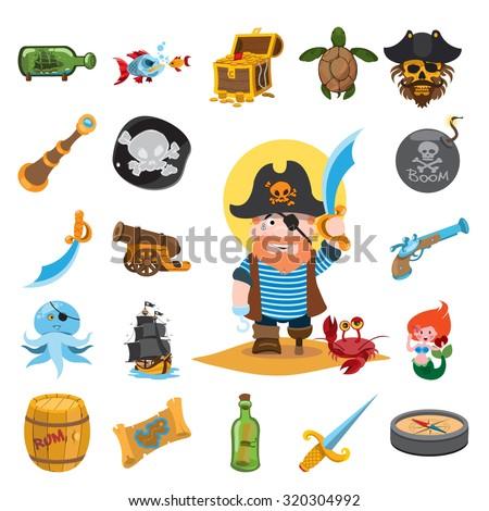 pirate icons  pirate  pirate