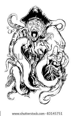 pirate & octopus