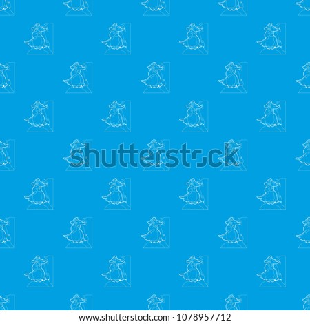 pirate parrot pattern vector
