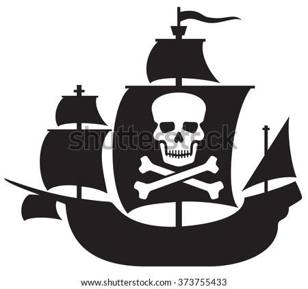 free pirate ship vector download free vector art stock graphics rh vecteezy com cartoon pirate ship vector pirate ship vector image