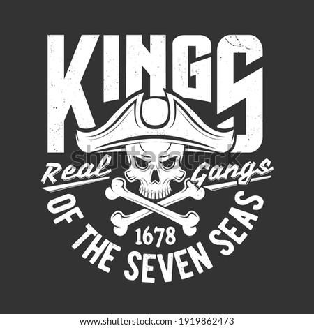 pirate skull and crossed bones